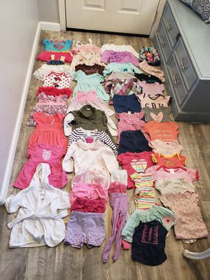 Baby girl clothes sz 6-12m for Sale in Tucson, AZ