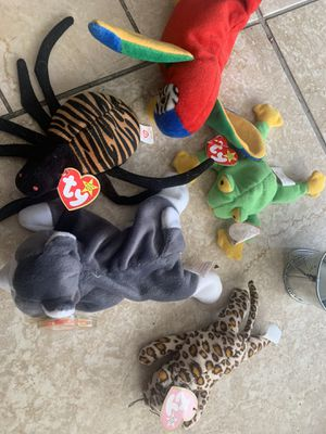 Vtg beanie babies. for Sale in North Babylon, NY