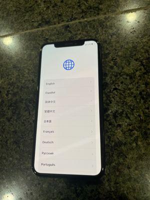 I Phone X Black 64GB for Sale in Perris, CA