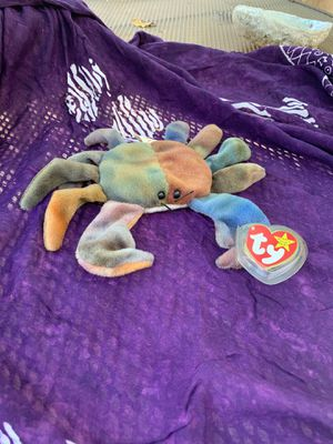 Claude the crab beanie baby for Sale in Hayward, CA