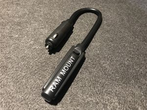 """F/S: Genuine RAM Mounts 8"""" Flexable LED Light with Male Cigarette Plug for Sale in Houston, TX"""