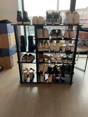 Furinno Black / Espresso Multi Storage Shoe Rack for Sale in New York, NY