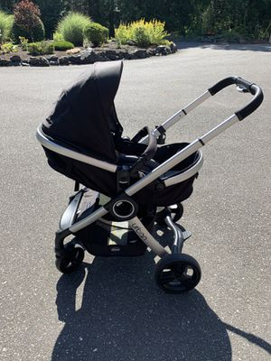 Chicco urban 6 in 1 stroller with chicco keyfit 30 car seat for Sale in Bellingham, WA
