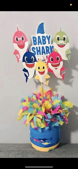 Baby shark centerpieces for Sale in Los Angeles, CA
