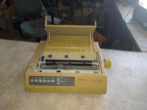 Old school printer doesn't work sold as is for parts or fix for Sale in Marion, NC