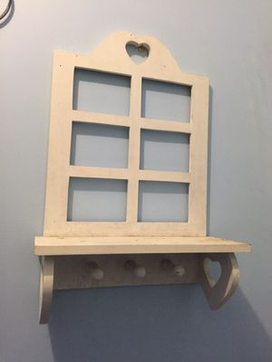Wooden shelf, place for pictures for Sale in Cleveland, OH