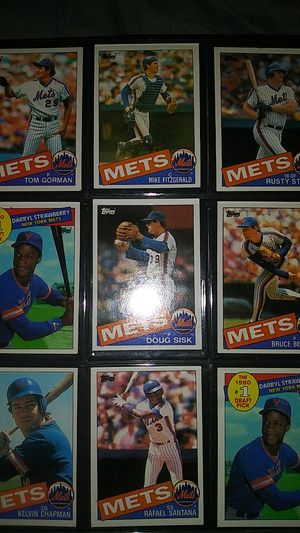VINTAGE TOPPS MLB BASEBALL TRADING CARDS for Sale in Allentown, PA