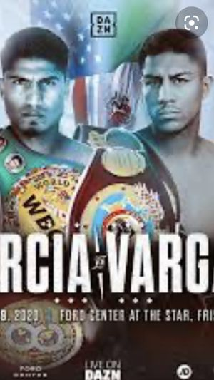 Boxing Saturday night the star frisco $40 to $65 each for Sale in The Colony, TX