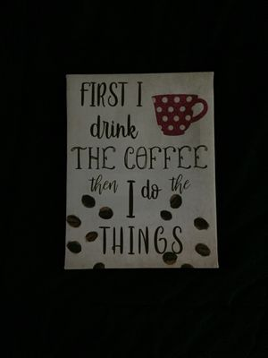 Coffee Wall Sign for Sale in Williamsville, NY