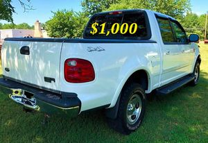 $1,000 I'm the first owner and i want to sell my 2002 Ford F-150 XLT .,, for Sale in San Francisco, CA