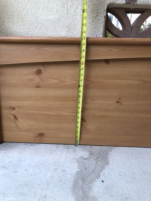 King and Queen headboards, wood. Very good condition. for Sale in Oceano, CA