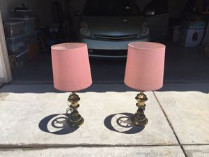 CLASSIC AND HARD TO FIND TABLE LAMPS! for Sale in North Las Vegas, NV