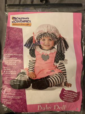 Toddler Baby Doll Costume for Sale in Clearwater, FL