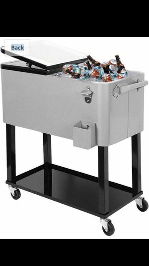 New Clevr Outdoor 80quart Party Portable Rolling Cooler Ice Chest for Sale in Bellflower, CA