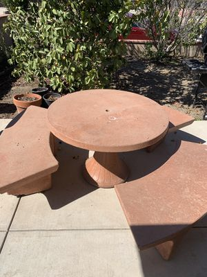 Cement Patio Furniture for Sale in San Diego, CA