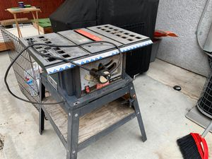 Ryobi Table Saw 10 inch working for Sale in Pasadena, CA