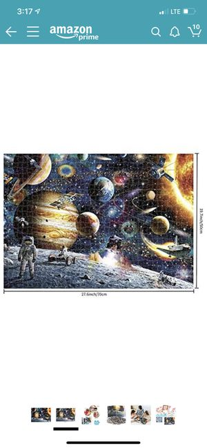 Sweeada Space Puzzle 1000 Piece, Planets in Space and Astronaut Puzzle Games Suitable for Adults and Children. Activities to Help Children Think Abou for Sale in El Monte, CA
