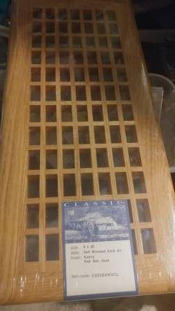 Wood return air vent . for Sale in Gresham, OR