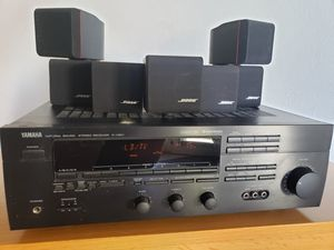 Bose Acoustimass speakers & Yamaha receiver for Sale in Scottsdale, AZ