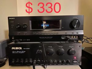 Amplifier & AV Receiver for Sale in Alhambra, CA