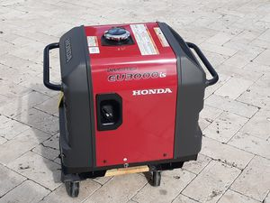 Brand new never used Honda eu3000is inverter generator 0 hours for Sale in Fort Lauderdale, FL