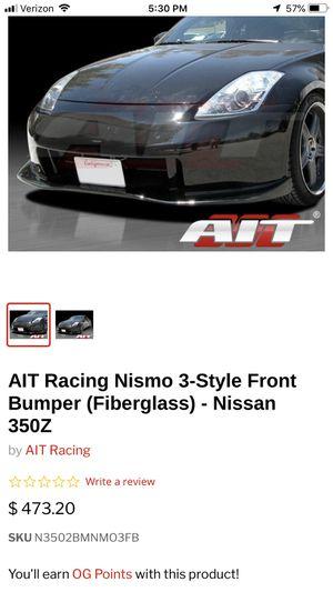 350Z Nismo V3 Bumper for Sale in Ashburn, VA