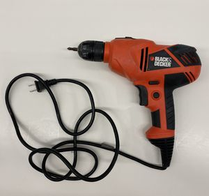"Black & Decker DR250 3/8"" Corded Drill With Bag for Sale in Fort Lauderdale, FL"