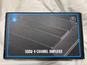 JL Audio MX500/4 Amplifier for Sale in San Jose, CA