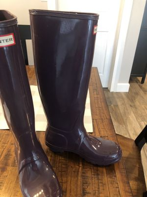 Ladies hunter rain boots for Sale in Fort Lauderdale, FL