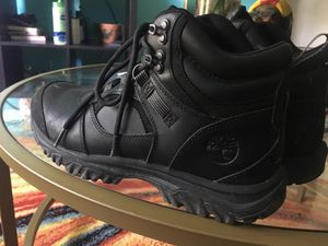 Black timbs boots for work for Sale in Arlington, VA