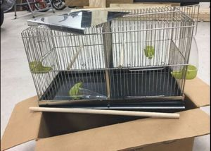Brand New Bird Cage. Cage can be seperated to 2. Perfect for Breeding canaries, Finches, or Smaller Birds for Sale in Warren, MI