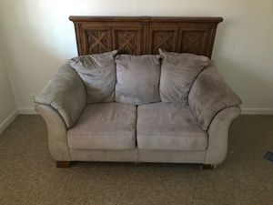Couch and bed frame for Sale in Visalia, CA