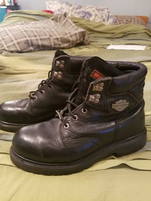 Harley Davidson motorcycle boots for Sale in Biglerville, PA