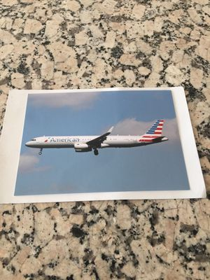 American Airlines A321 Aircraft photo for Sale in Los Angeles, CA