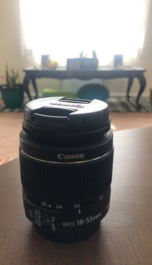 Canon Lens (18-55mm) for Sale in Glendale, CA