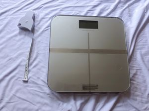 Digital Personal Bathroom Scale, Silver for Sale in Rancho Cucamonga, CA