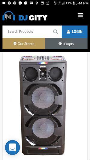 Gemini djmix 5000 trade for lights or other dj equip for Sale in Hampton, VA