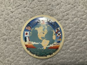 NEW Planet Mickey Walt Disney Imagineering Burbank, Ca. Dated: May 15, 1993 Pin Excellent Condition for Sale in Henderson, NV