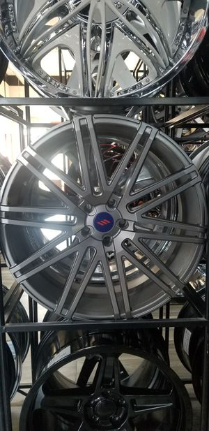 22x9 22x9.5 5x120 Gunmetal Gray BLACK FRIDAY DEALS for Sale in Federal Way, WA