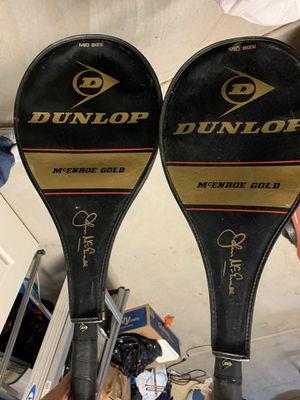 2 Dunlop Tennis Rackets for Sale in Avondale, AZ