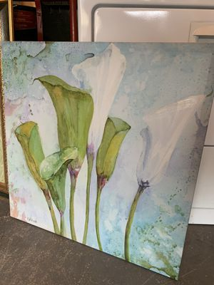 Floral canvas for Sale in Covington, WA
