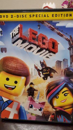 The lego movie dvd 2 disc for Sale in Chula Vista, CA