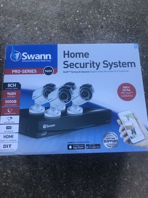 Swan Home Security System for Sale in Baton Rouge, LA