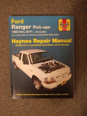 Ford Ranger Haynes manual for Sale in Detroit, MI