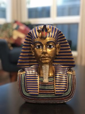 Egyptian Collection Large King Tutankhamen Gold Mask for Sale in Irvine, CA
