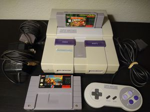 Super Nintendo and donkey Kong game's for Sale in Portland, OR