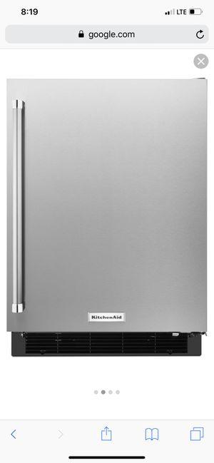 "KitchenAid 24"" Undercounter Refrigerator with Stainless Steel Door KURR104ESB for Sale in Nashville, TN"