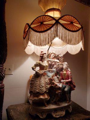 Beautiful lamps porcelain capodimonte for Sale in Hialeah, FL