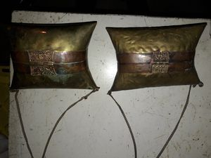 (2) Vintage Brass Pillow Clutch Purses for Sale in San Juan Capistrano, CA