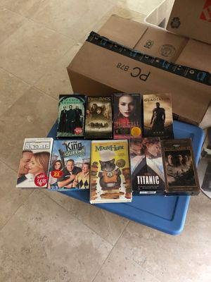VHS MOVIES for Sale in Lutz, FL